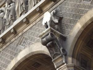 détail statue de Jacquemard façade le 1O:11:13
