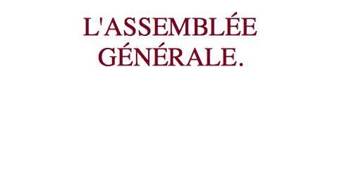 Chers Amis et Membres,  Vous êtes invités par le conseil d'administration à participer, en votre qualité de membre, à l'assemblée générale ordinaire annuelle de l'association Les Amis de Saint-Augustin […]