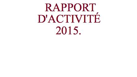 Nous avons le grand plaisir de vous présenter le rapport d'activité et financier qui a été présenté lors de l'assemblée générale ordinaire annuelle de notre association qui s'est déroulée le […]