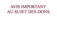 L'Association les Amis de Saint-Augustin vous informe avoir été avertie que la société ITIQITI avait entrepris une campagne visant à solliciter des dons prétendument destinés à l'église Saint-Augustin, en utilisant […]