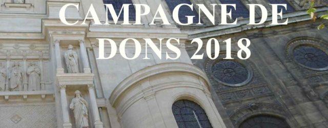 La campagne de dons 2018 des Amis de Saint-Augustin est lancée ! Depuis plus de sept ans et grâce au fidèle soutien de nos actuels 945 membres et donateurs, nous […]